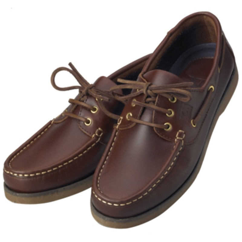 Brown Nautical Shoes XM Yachting Crew N42